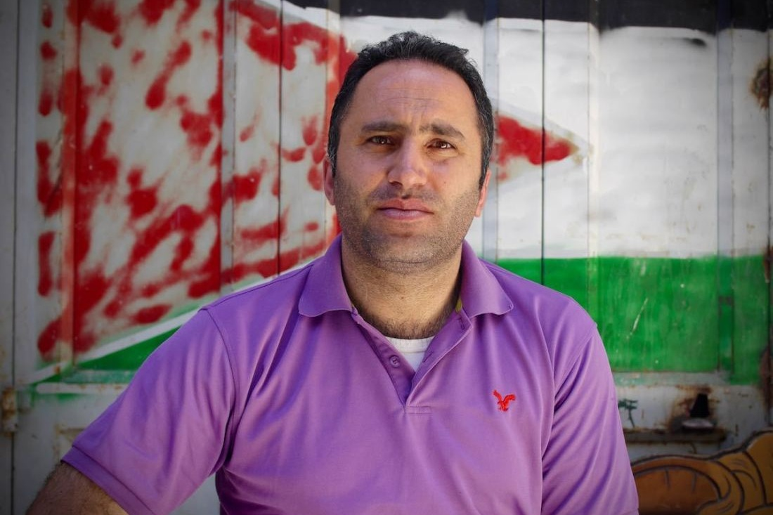 Issa Amro - Issa is a Palestinian activist based in Hebron, West Bank. He is the coordinator and co-founder of the grassroots group Youth Against Settlements.