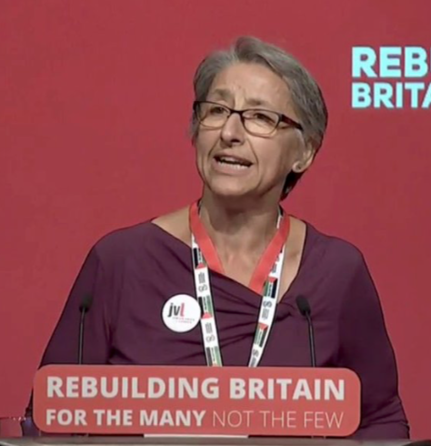 Leah Levane - Leah Levane is a Jewish Labour Council candidate for Castle Ward, Hastings at Hastings and Rye and the co-chair of Jewish Voice of Labour (JVL). She is a known activist against austerity, supporting peace and justice for Palestine.