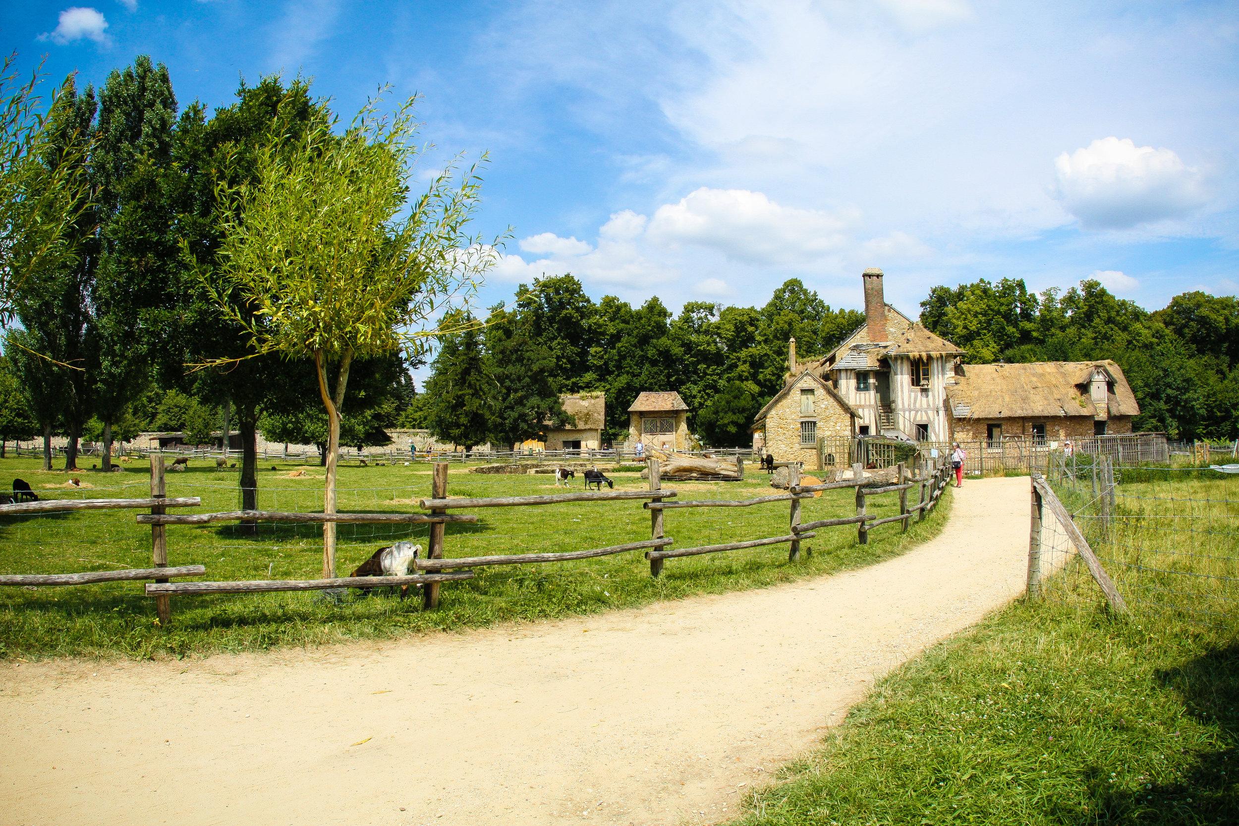 Part of Marie Antoinette's estate