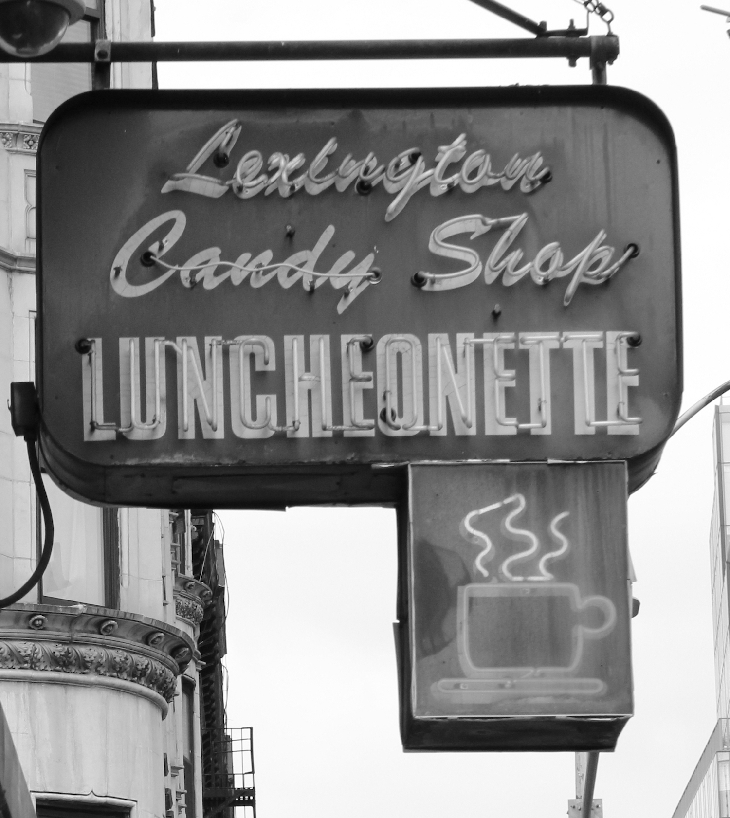 Syed's neighbor to the north, Lexington Candy Shop, a diner, has been around since 1925.