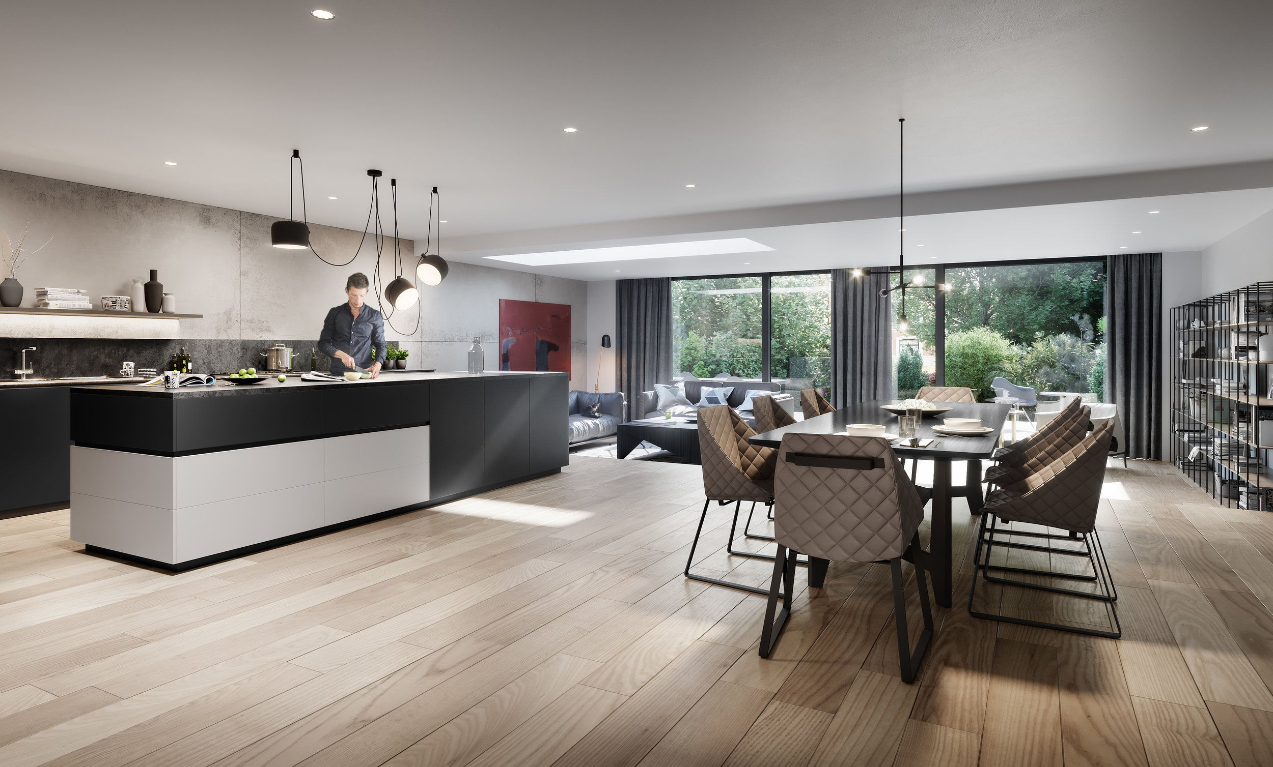 HAMPSTEAD HILL KITCHEN + LIVING