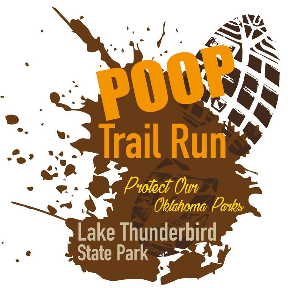 Starting on December 2nd,  Protect Our Oklahoma Parks(POOP) Trail Run being held at Lake Thunderbird. To Learn More Click the Logo to the left!     -