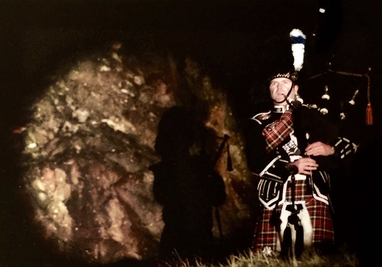 Arthurs Seat Edinburgh. Millennium 2000