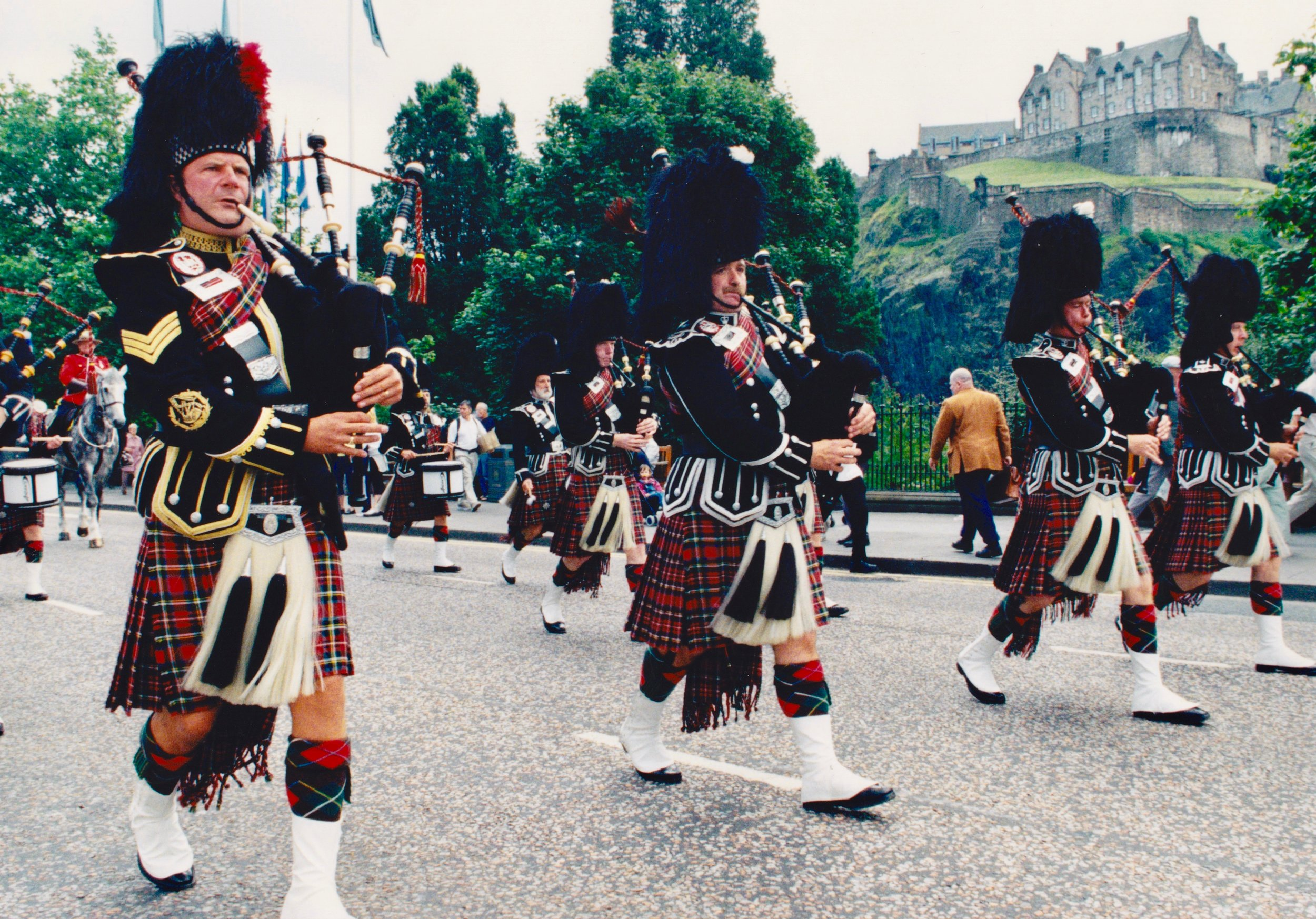 Princes Street Parade, Edinburgh