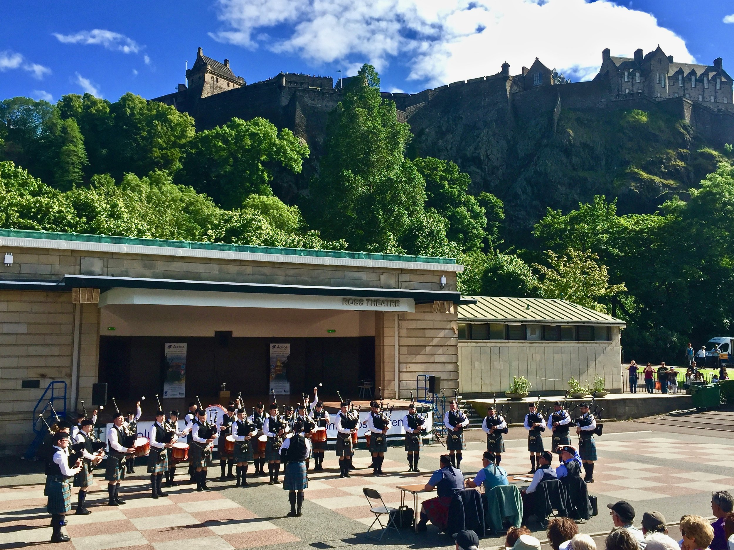 Boghall and Bathgate, Princes Street Gardens, June 2017
