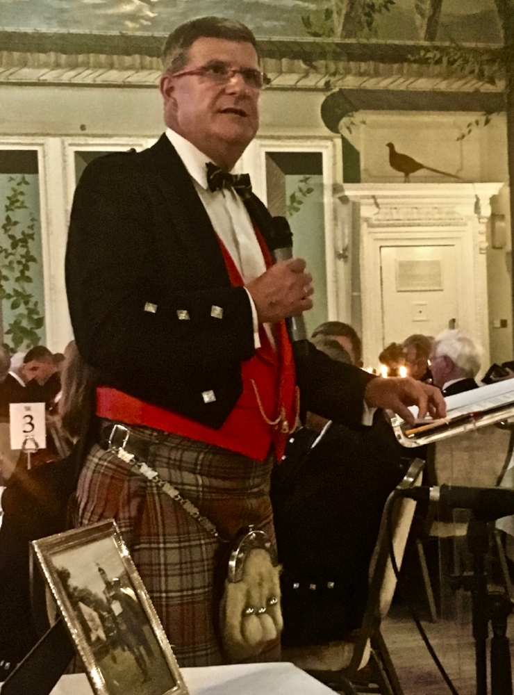 Fear-an-tigh,   at the John MacLellan Memorial dinner 2017