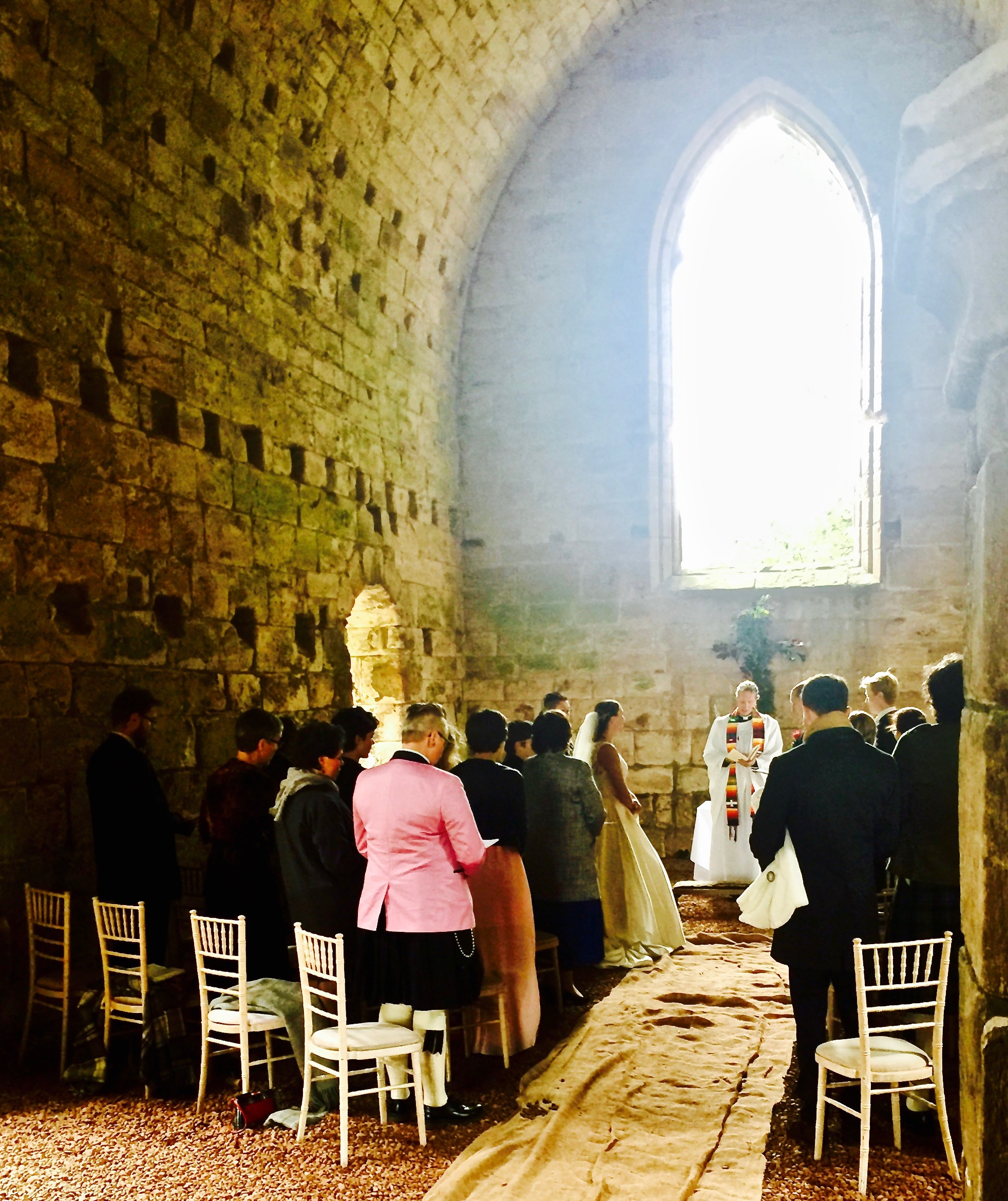 Dunglass Castle. A very nice Scandinavian wedding 4th October 2017