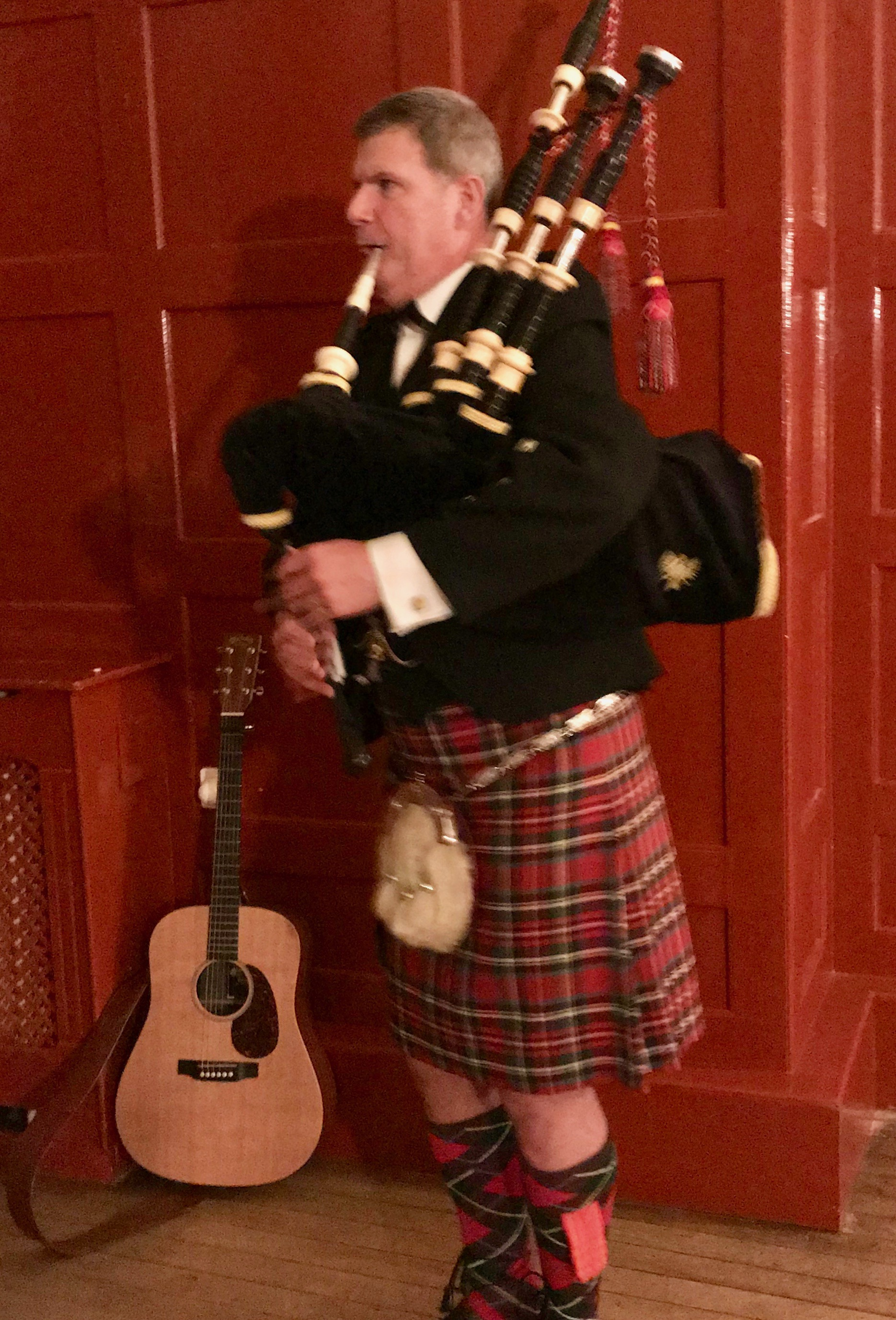 Cpls Mess. Edinburgh Castle 2018