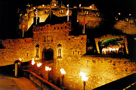 Never tire of playing here.    Edinburgh Castle