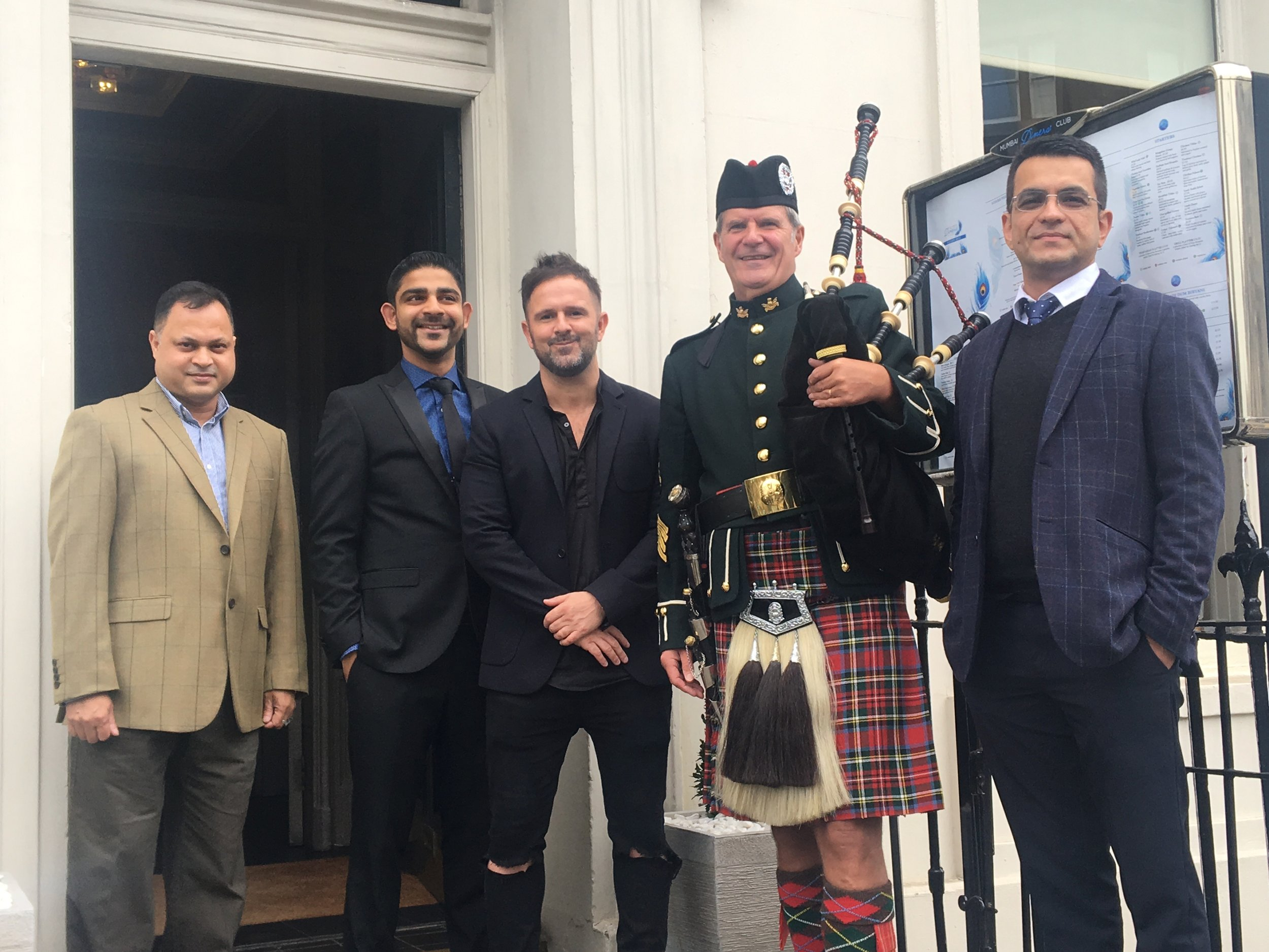 The new Indian Restaurant The Mumbai Diners Club Atholl Place Edinburgh