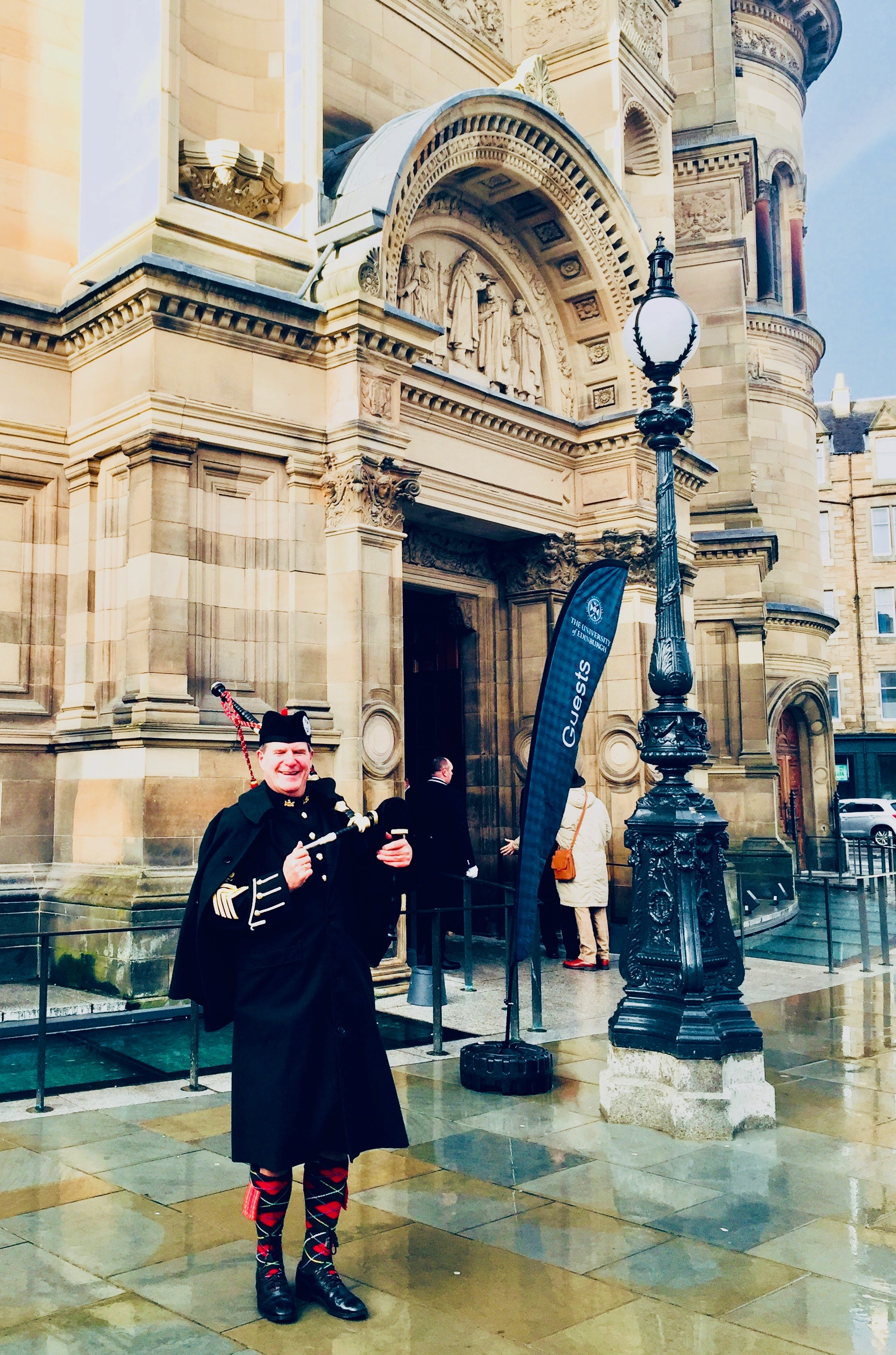 The McEwan Hall. Edinburgh University Winter Graduation. Nov 2018