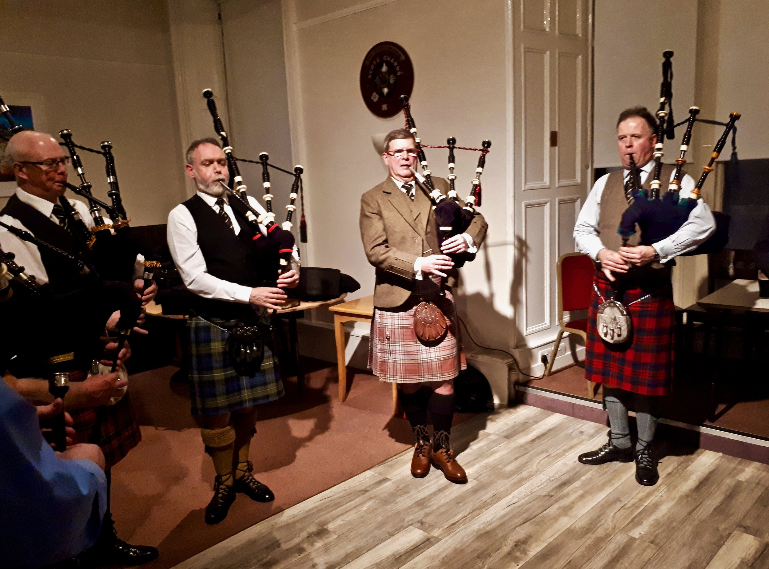 The Eagle Pipers' Society Edinburgh