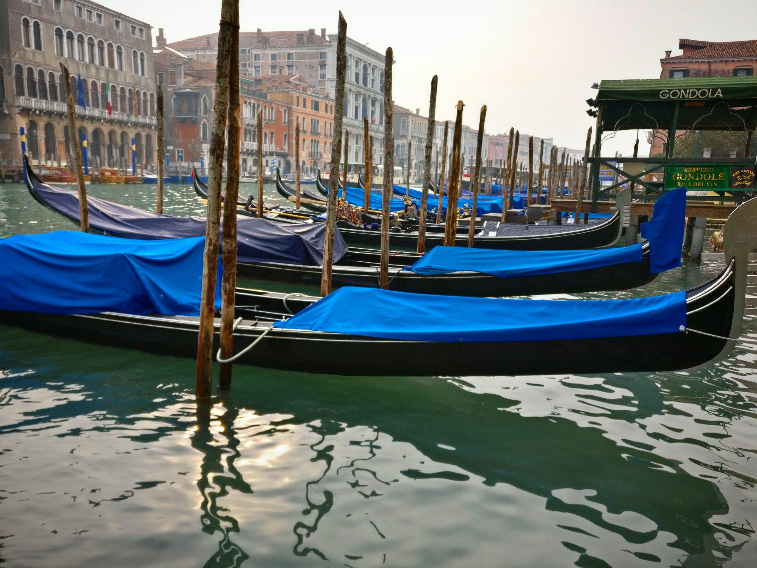 A Venetian car park