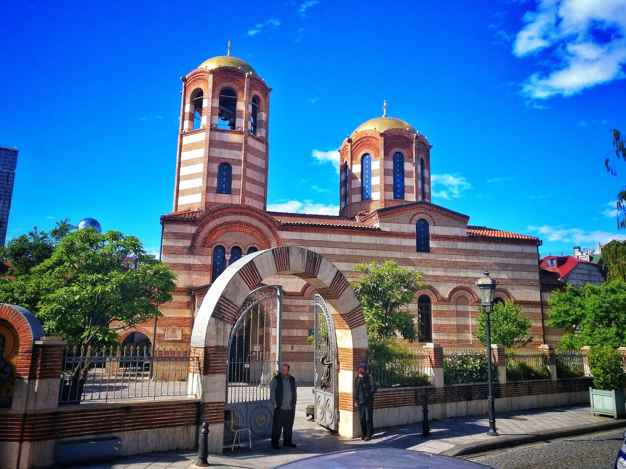 One of many, many churches