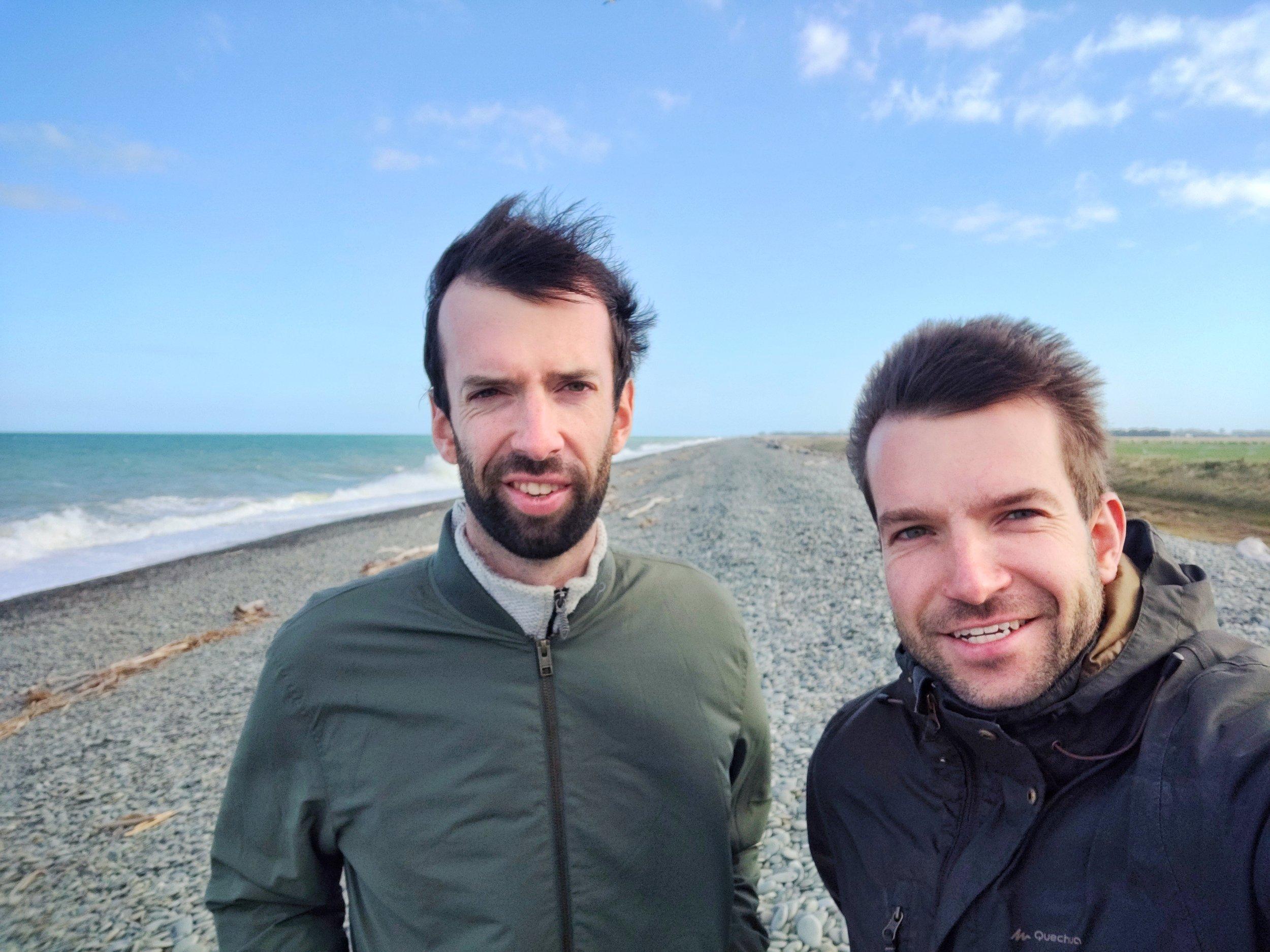 Myself and Christopher