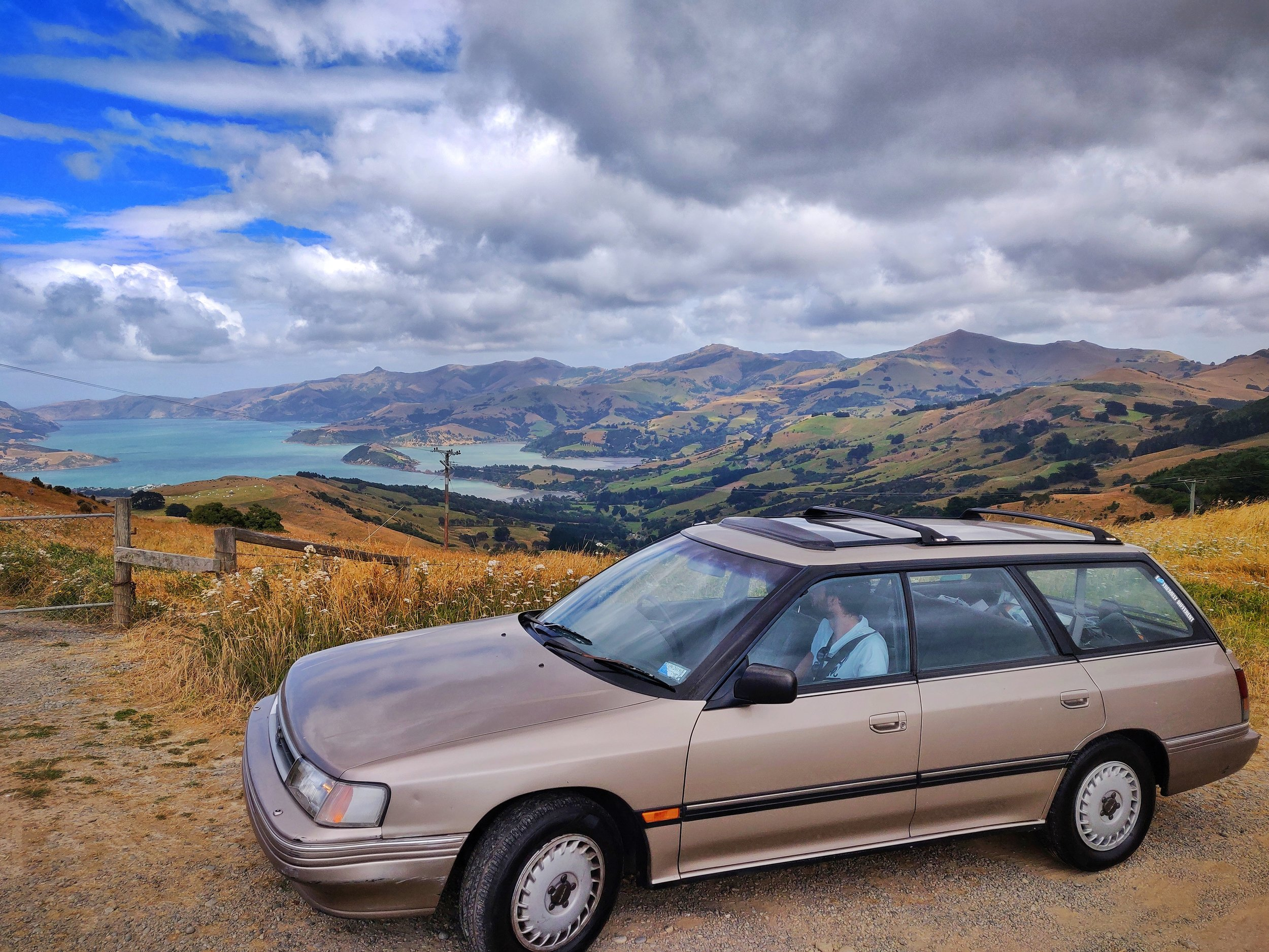 Our 1990 Subaru