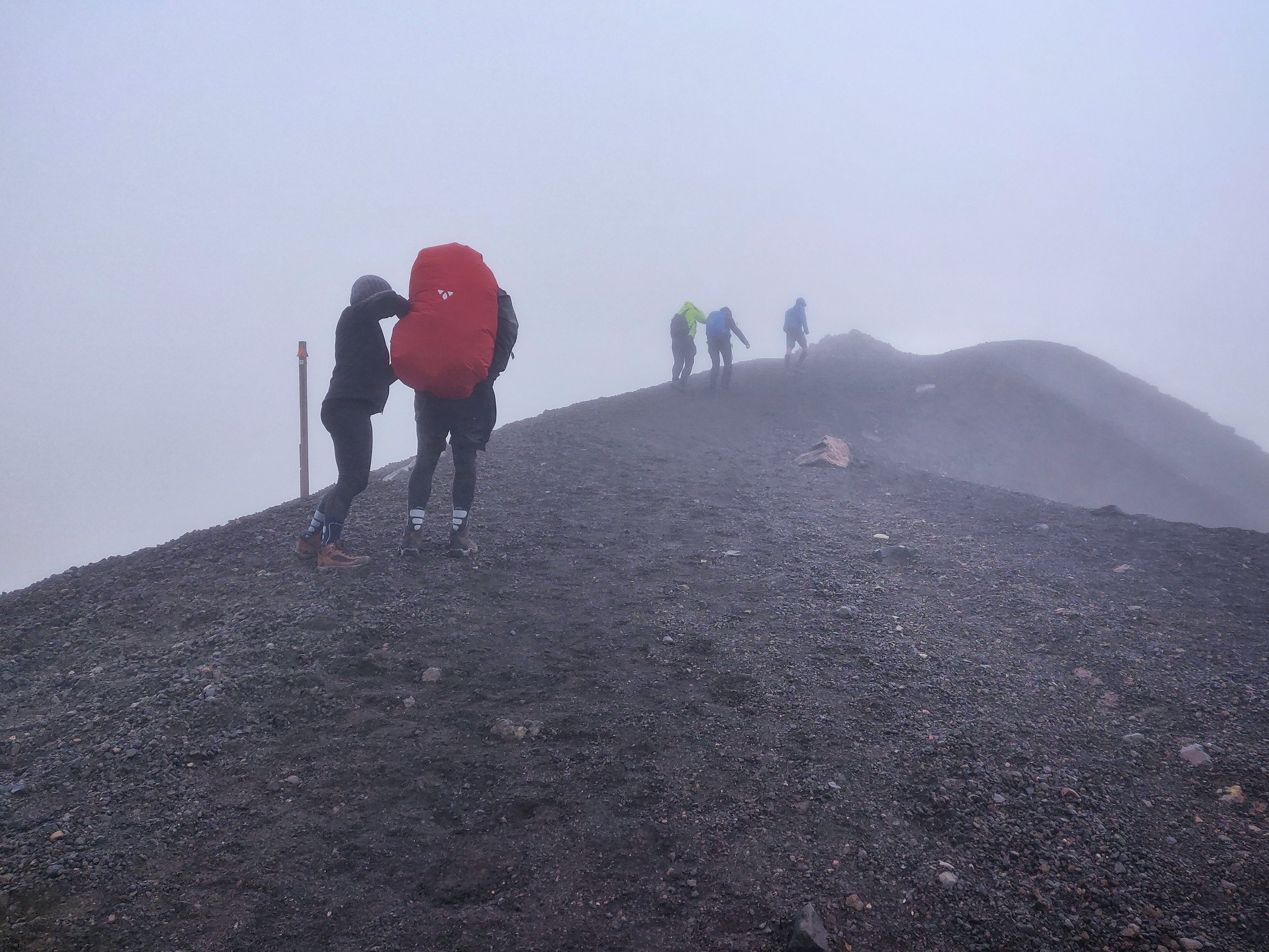 Crossing Tongariro