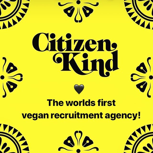 Hey Gang 👋 Sorry for the long silence. We had a few things going on but decided to come out of the cave to let you all know about our lovely friend @everemmagreen 's new venture that is @citizen_kind !! 💚  Since starting @tencablestreet I've spoken to so many vegans who were no longer happy with their jobs as they felt it was no longer in line with their values, or now wanted to do something that will have a positive impact in the world. (It happens!) To those people, check @citizen_kind out!  The worlds first vegan recruitment agency! ⭐️ Sustainable, vegan and ethical treatment for all ✌️YES 🙌 Congratulations @everemmagreen and thank you for creating this for people who want better things for the world! 💚 . . . . . . . #vegan#veganjobs#sustainablecompanies#ethicalcompany#veganrecruitment#vegancompany#veganbusiness#supportveganbusiness#veganlife#vegansofldn#londonvegan#veganlondon#veganlondoncommunity#vegansoflondon#vegansofig #chooselove#bekind