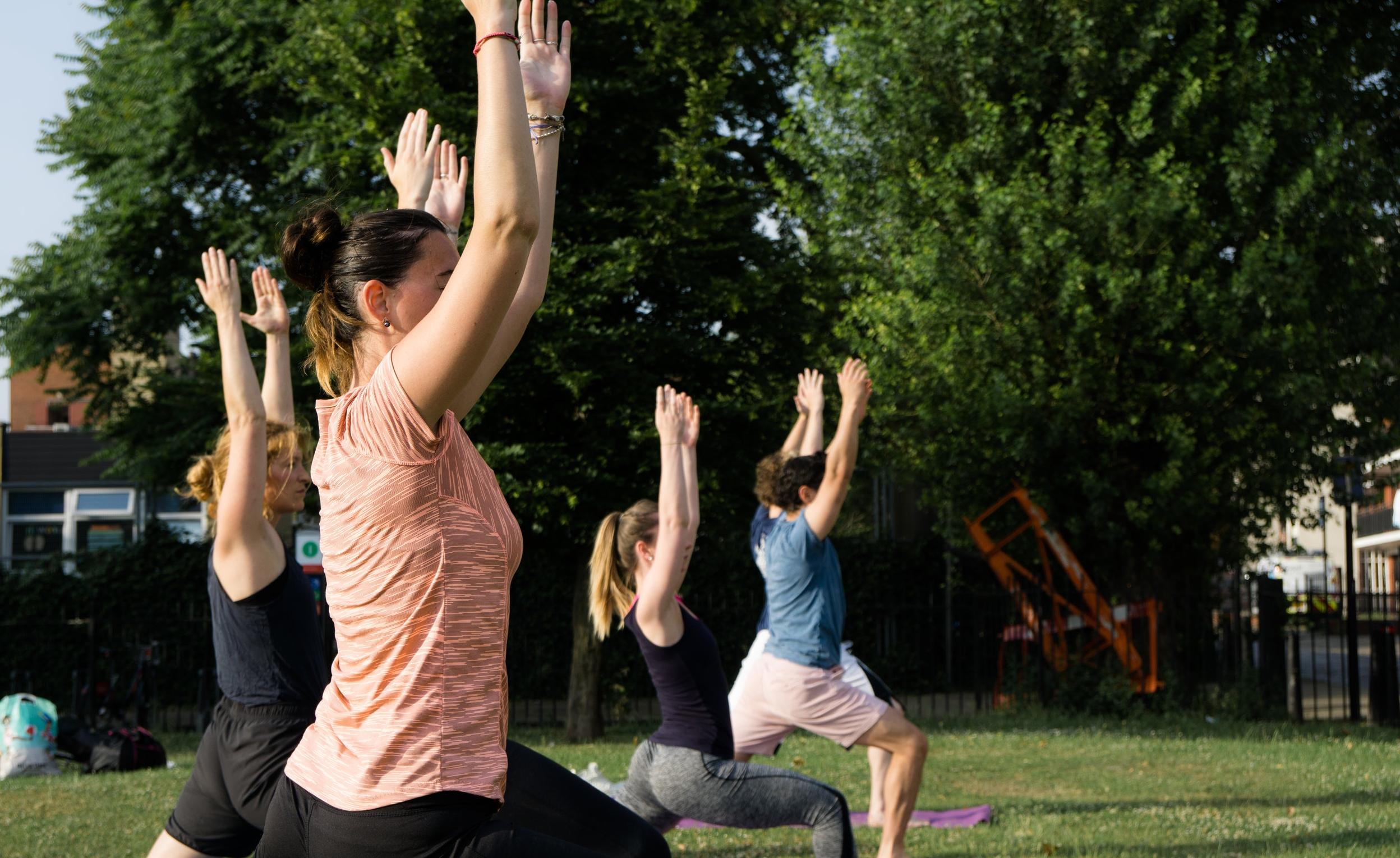 2 - Watch some yoga videos online