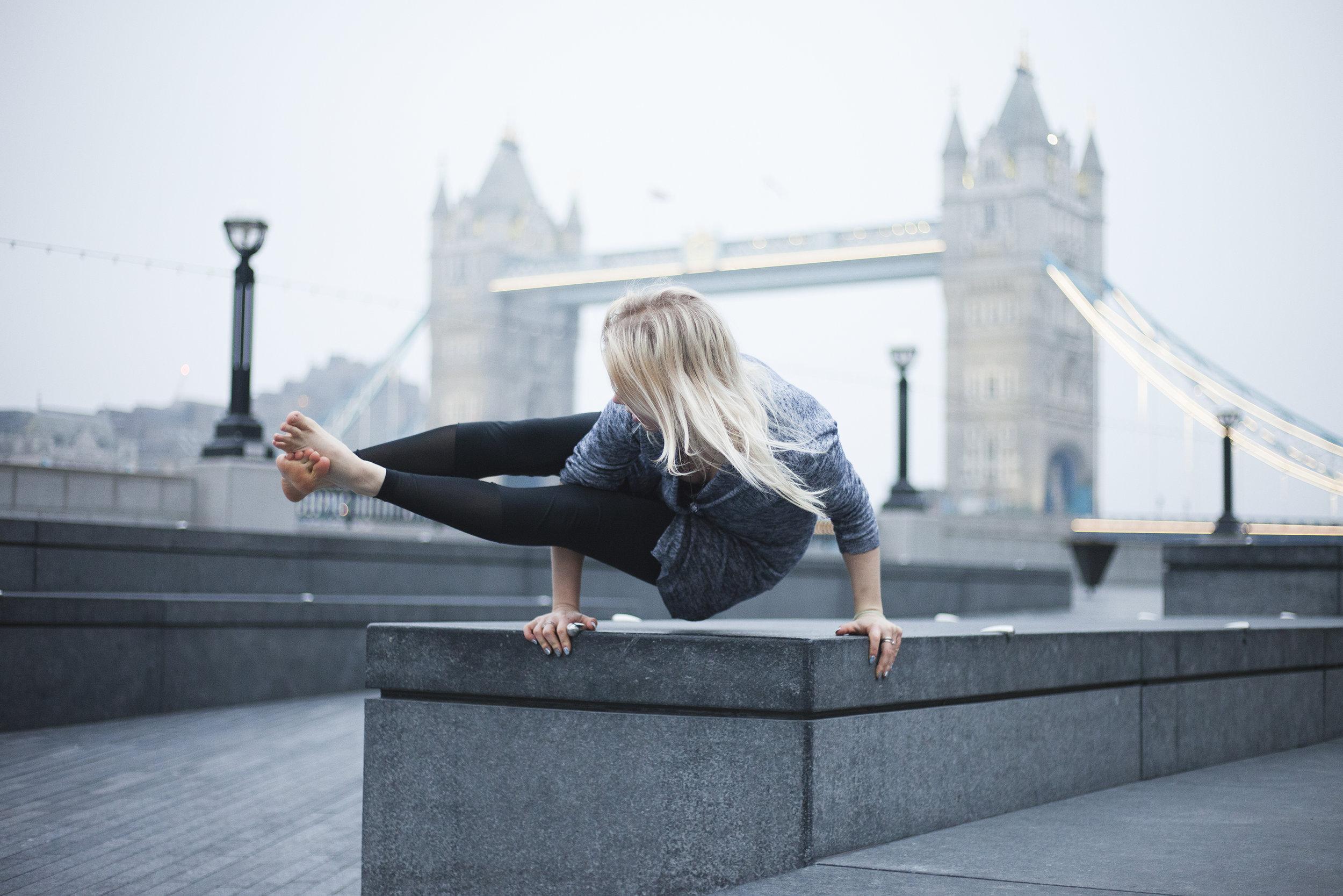 Yeh yoga Crabtree & Evelyn