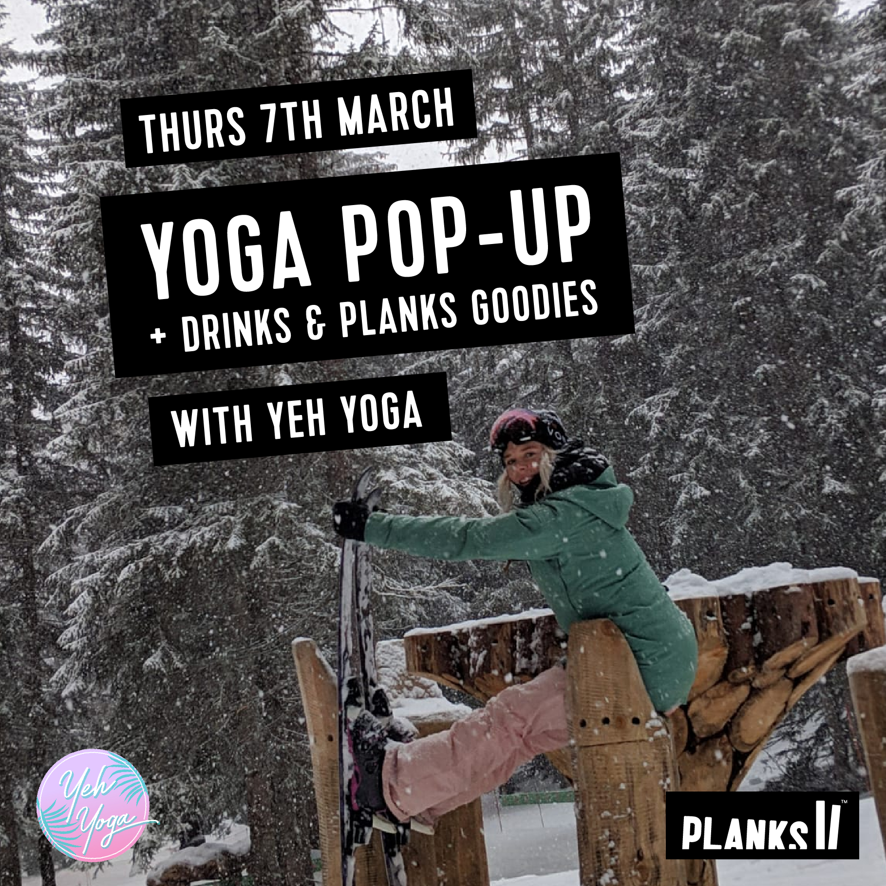 Planks x Yeh Yoga