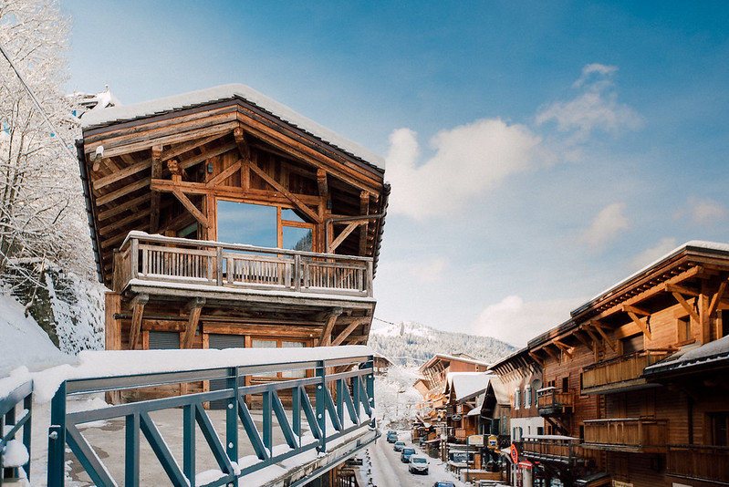 Our Luxury Chalet - right in the middle of the action in Morzine (Portes Du Soleil Ski Area), France. 45 min transfer from Geneva Airport.