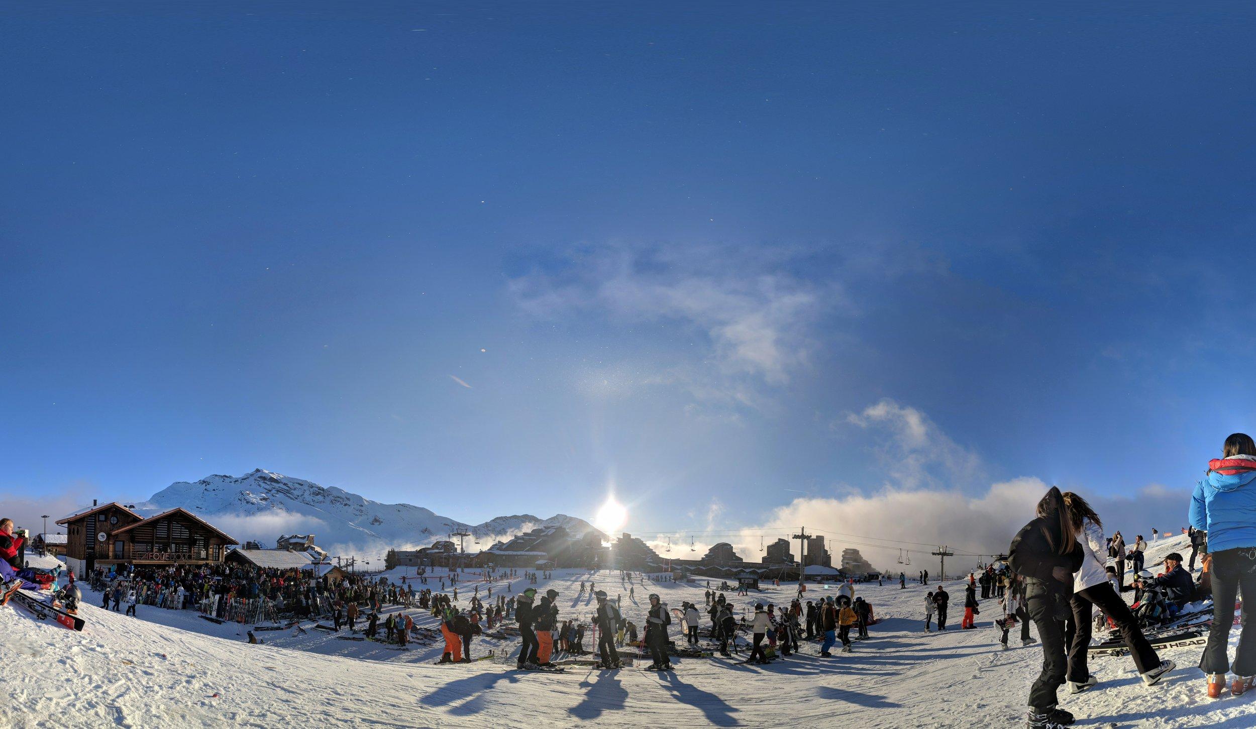 Après Ski Views in Avoriaz (Emily visit Jan 2019)