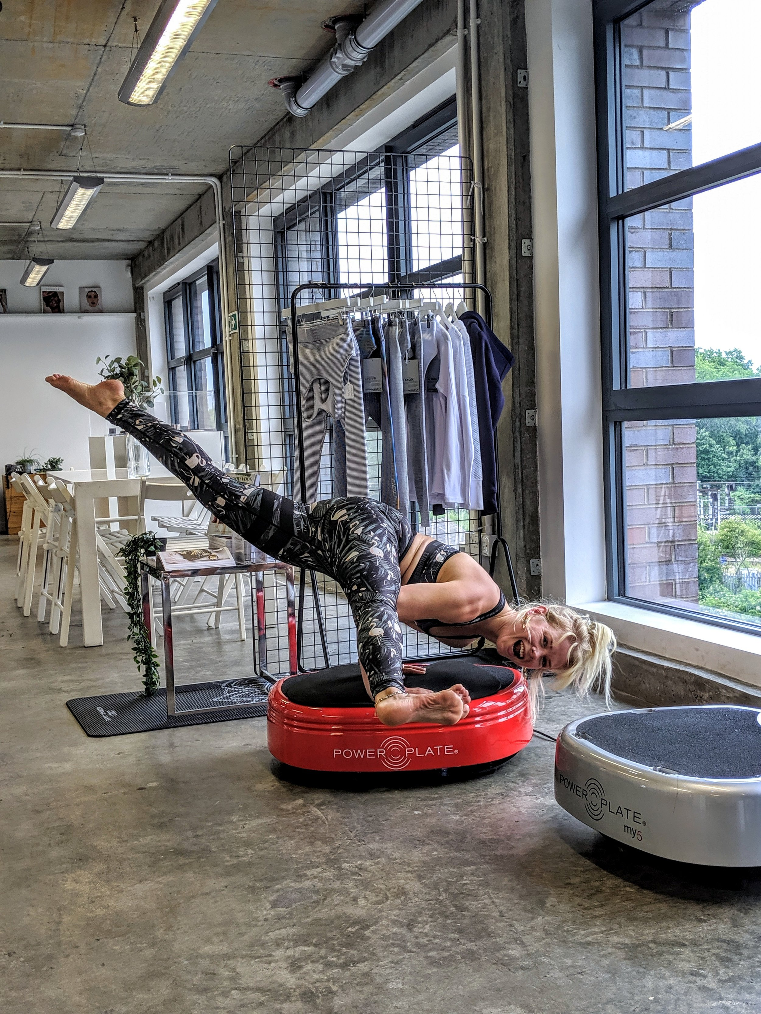 Brand Collaboration with Push PR and Power Plate