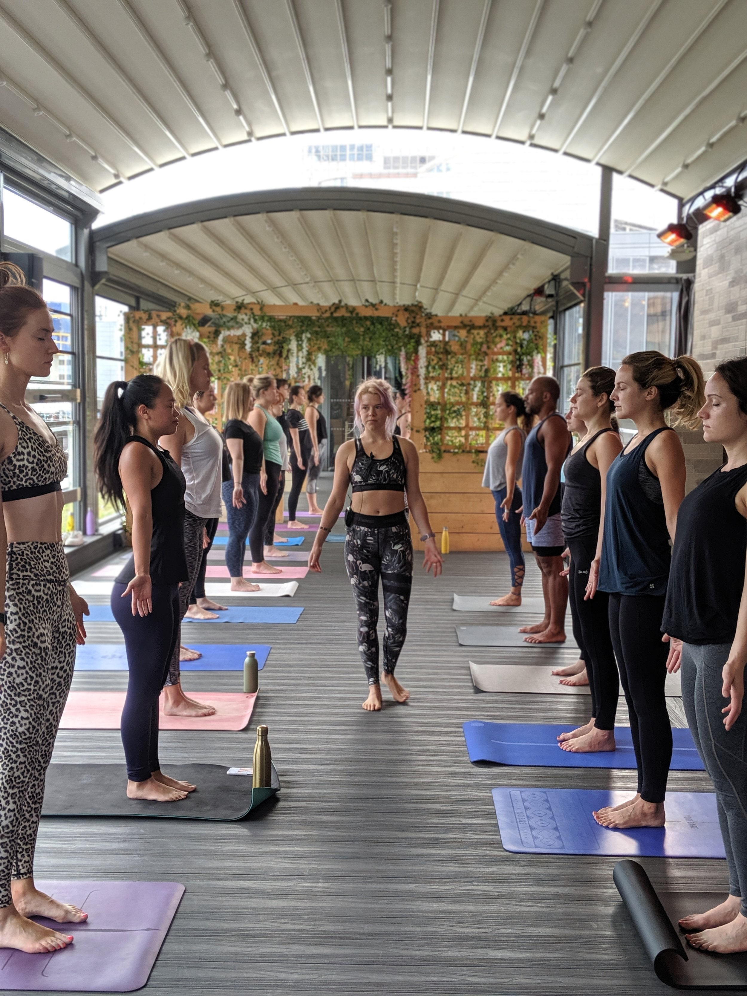 The Yeh Yoga Co at Savage Garden Bar London