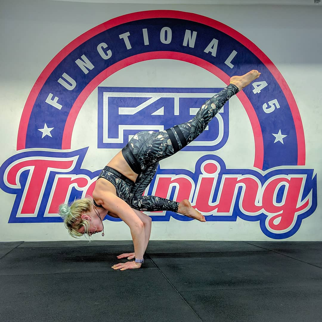 Hosting private yoga classes for F45 members