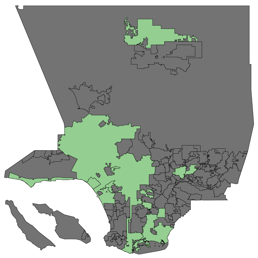 Map of Local Jurisdictions Currently Licensing