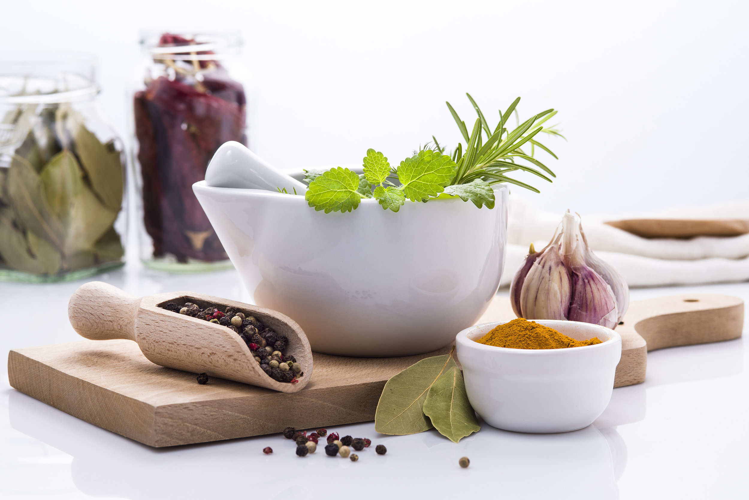 Botanical medicine - Plants have chemical constituents within them that can be ingested orally or applied on the skin to address a wide range of medical conditions. Herbs are often a gentler approach to healing compared to conventional drug therapies with less side effects, but with powerful healing potential.