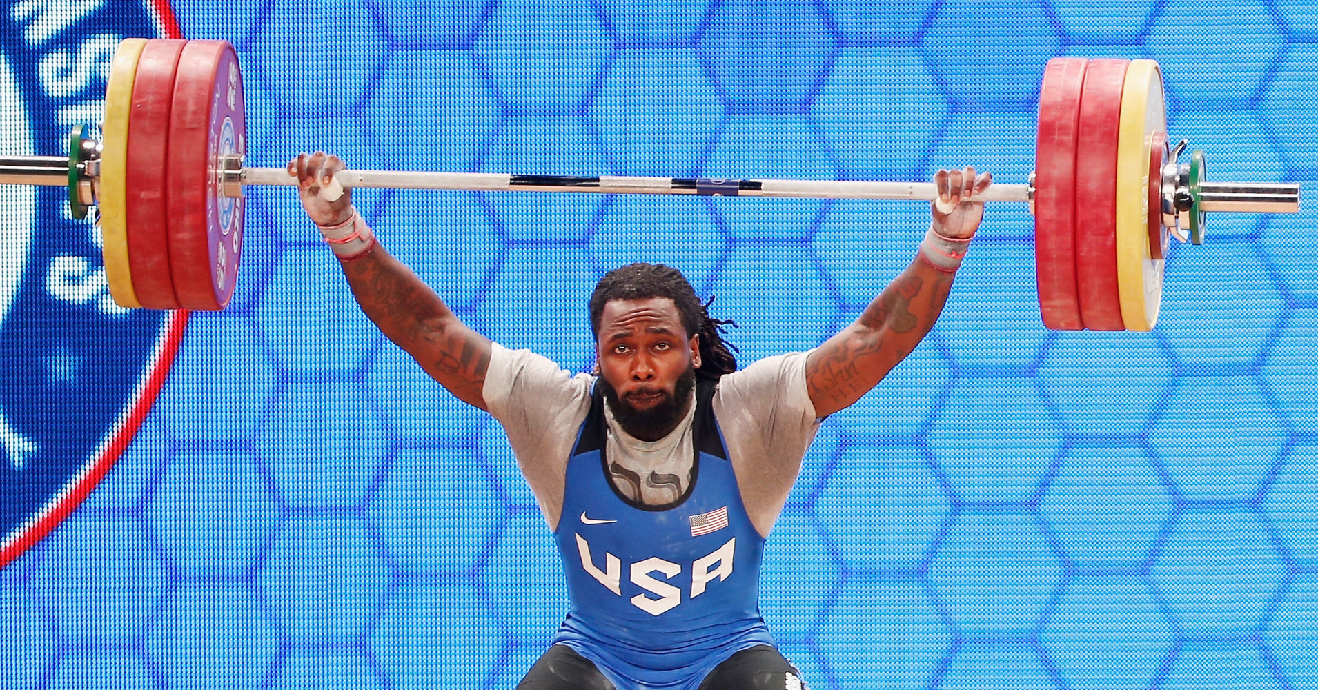 Kendrick Ferris, US olympic weight lifter
