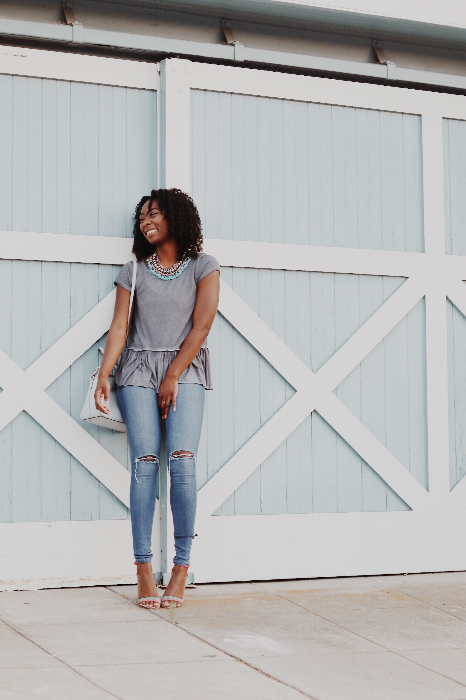 The most comfiest tee from Shop Blush Pink!