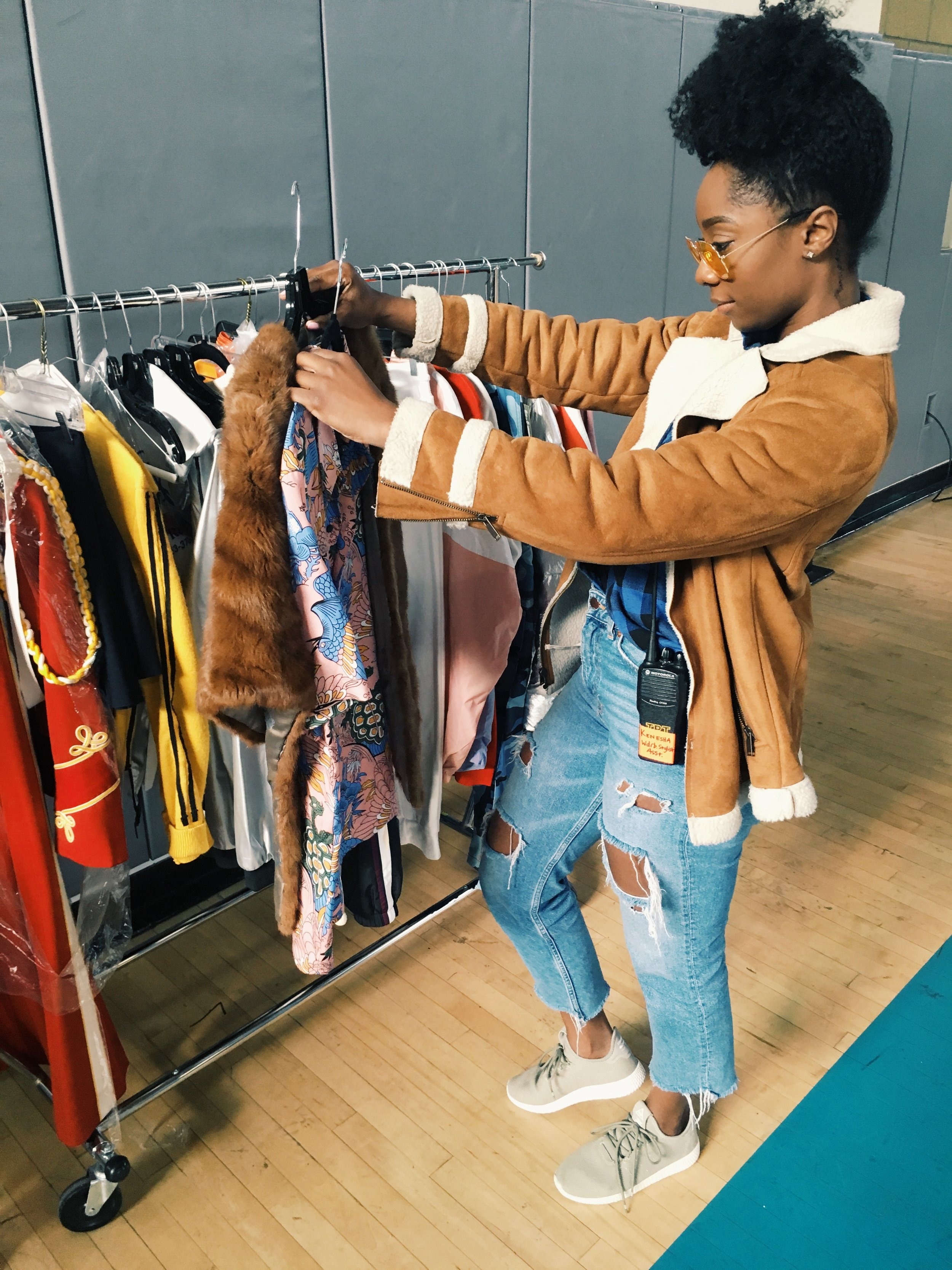 How I landed my first styling gig!