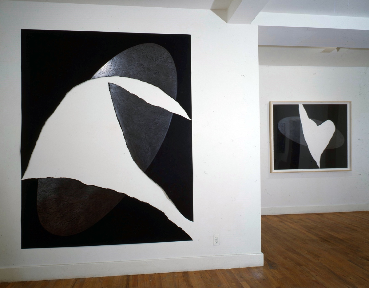 Bruno Facchetti Installation, 1985. UFO series.