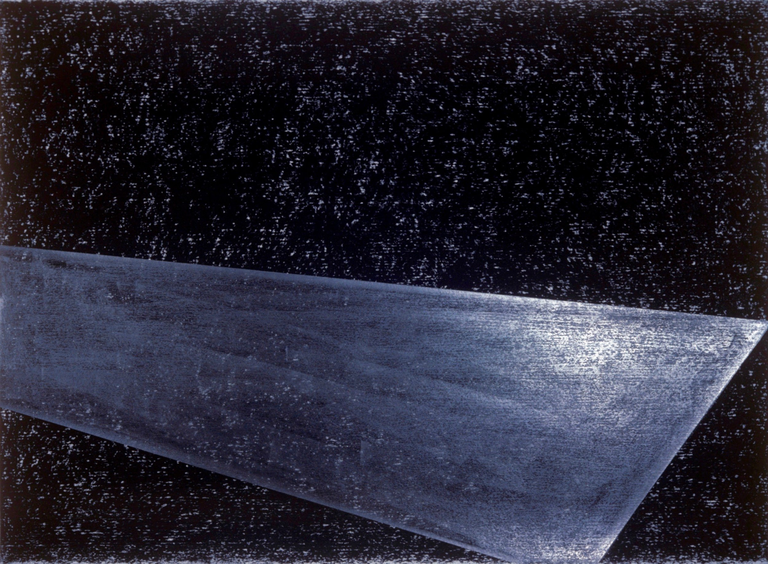 Untitled, 1984. Prism Series. Pastel and graphite on rag paper. 22 x 30""