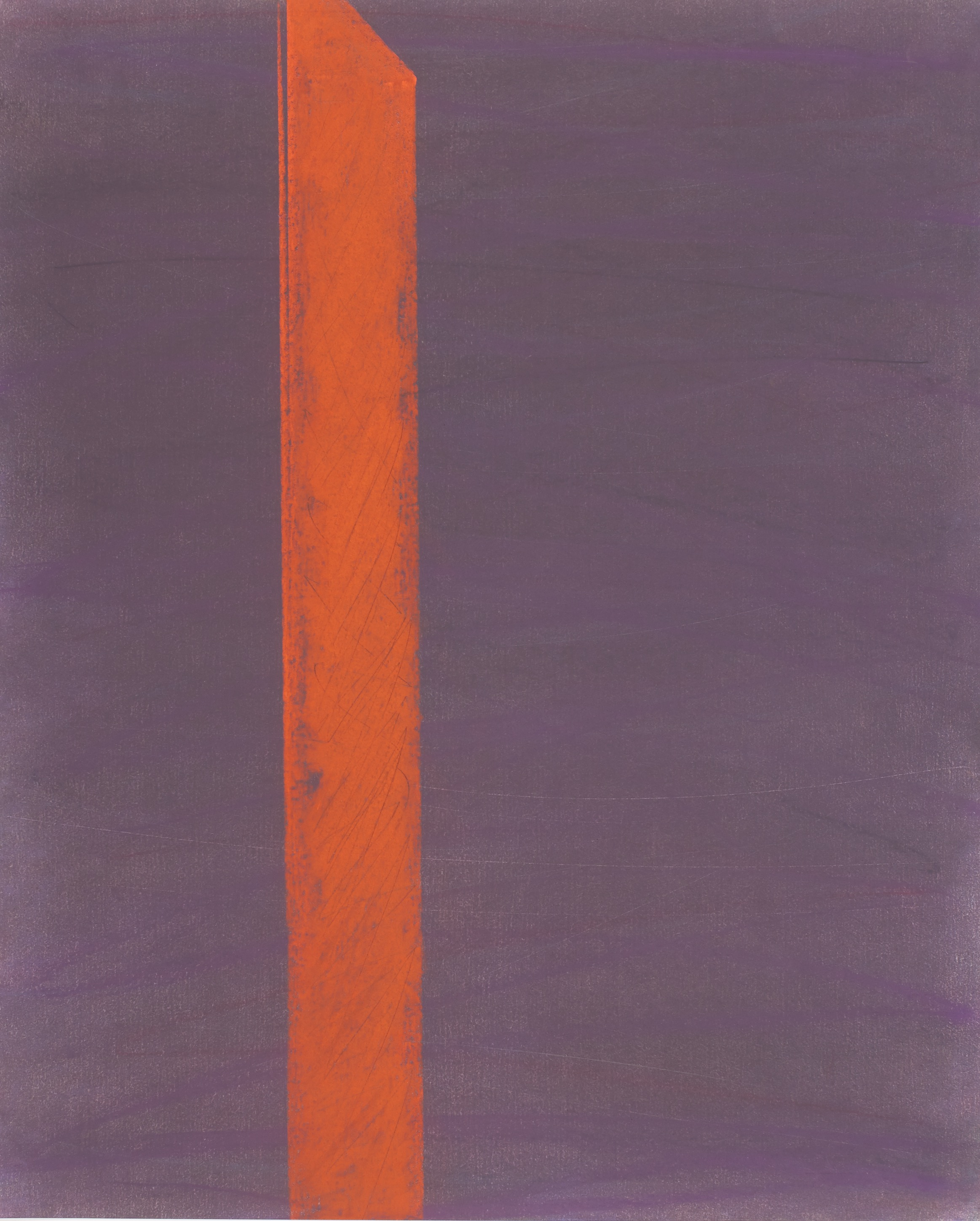 "Untitled, 1984. Prism Series. Pastel on rag paper. 30 x 22"""
