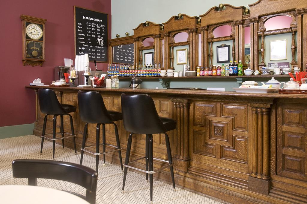 Weinhard Hotel Coffee Bar - Using local area roasters, the Weinhard Hotel Coffee Bar is one of the best places in town to get your flavored iced and hot coffee and espresso drinks.Hours vary235 E Main St.(509) 382-4032