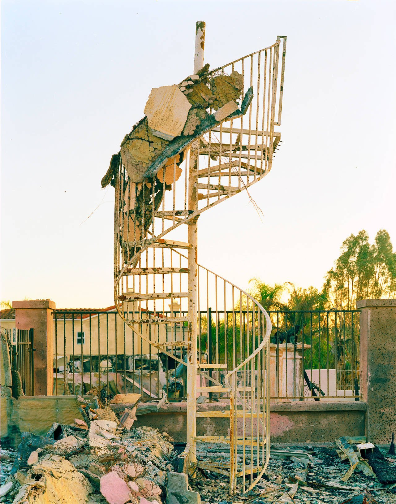 Wildfire #78, Witch Creek Fire, Rancho Bernardo, CA, 2007