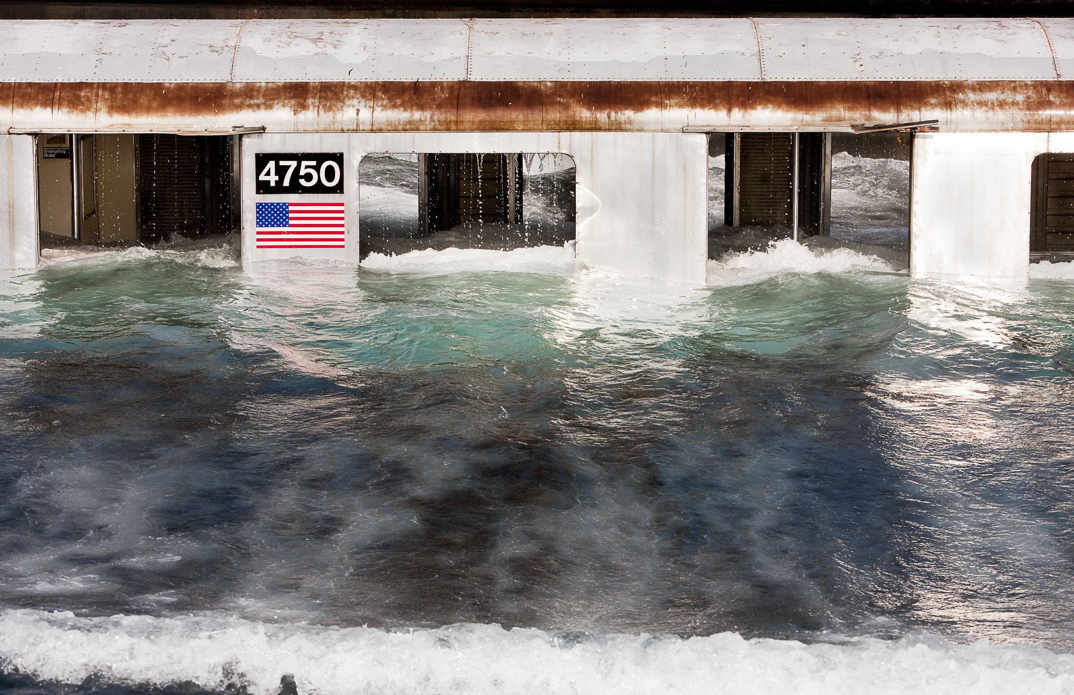 """Pool"" C Print photograph"