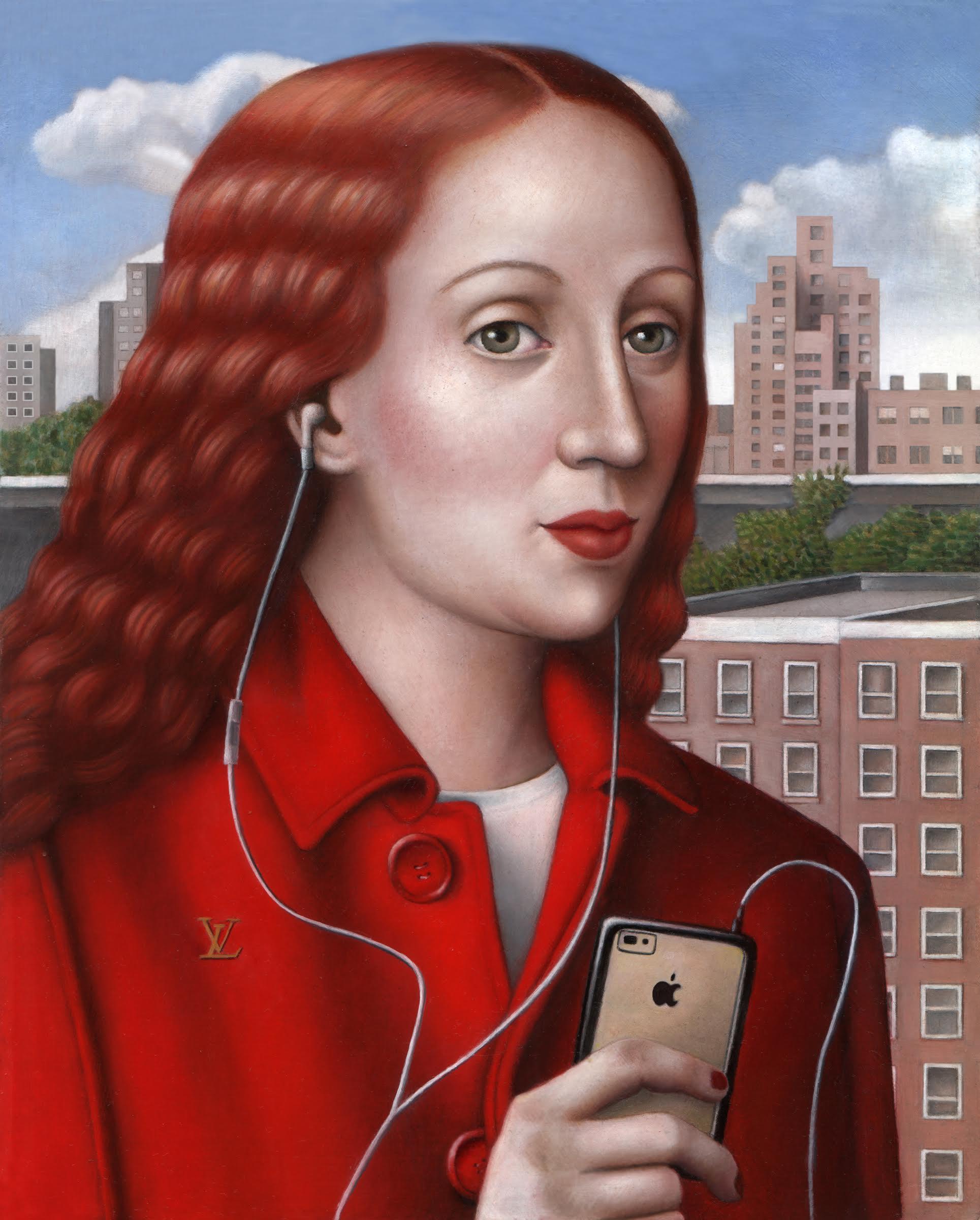 womaninredcoat