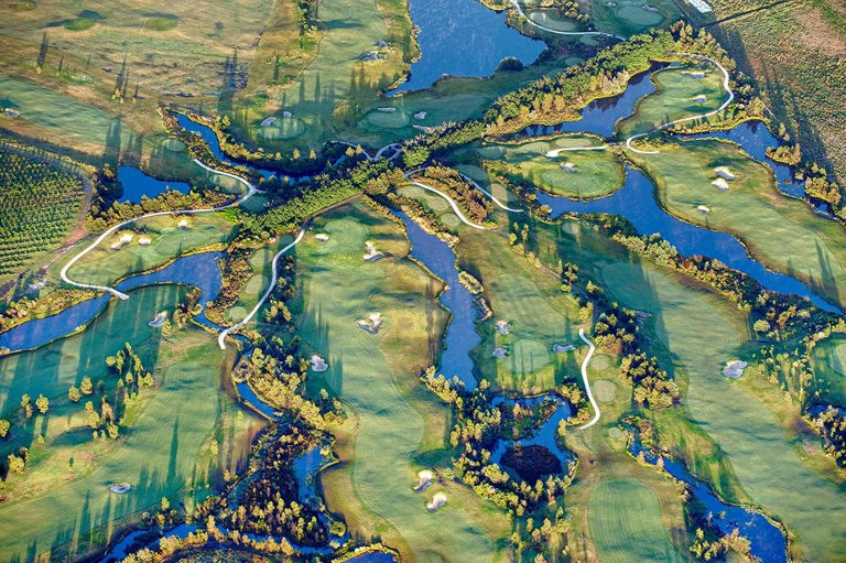 "ZOE WETHERALL, ""GOLF COURSE"" archival pigment print (limited edition)"
