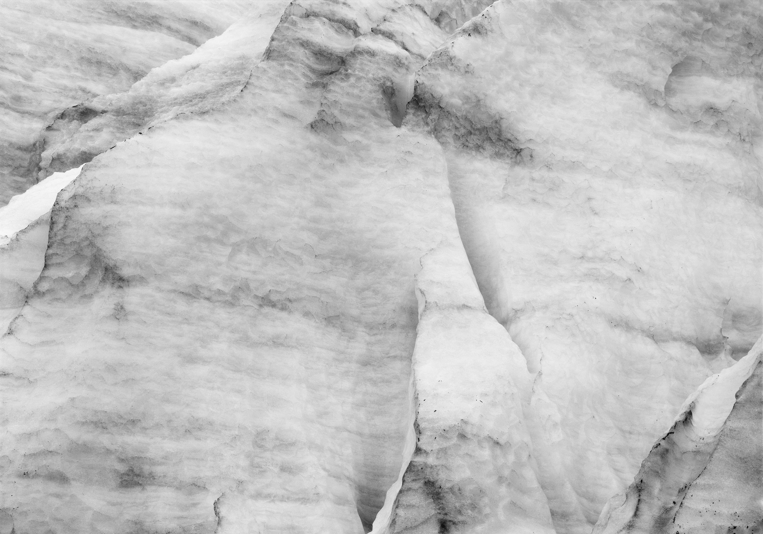 """Ice 05"" photograph, archival pigment print"