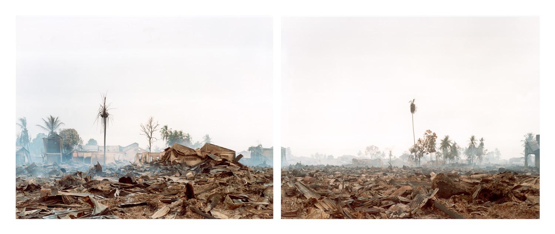 Sasha Bezzubov, Tsunami 3 (diptych) Indonesia 2005