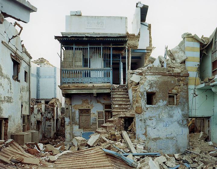 Sasha Bezzubov, Earthquake #1 India, 2001
