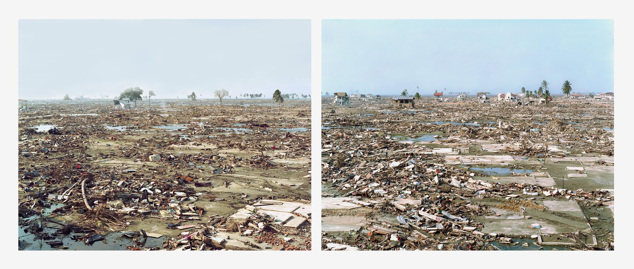 Sasha Bezzubov, Tsunami #2 diptych, Indonesia, 2005
