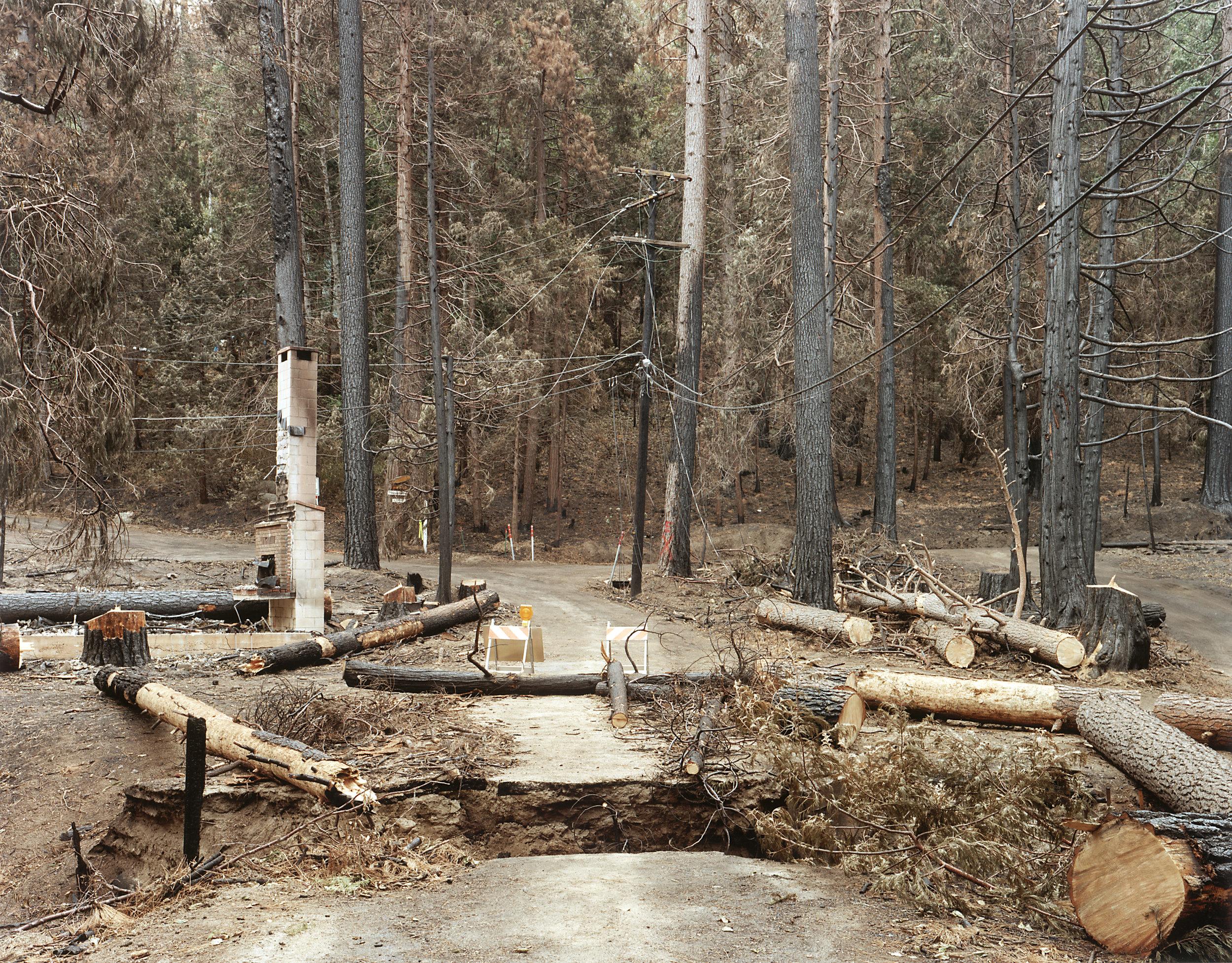 Wildfire #6. Old Fire, Cedar Glen, CA, 2003