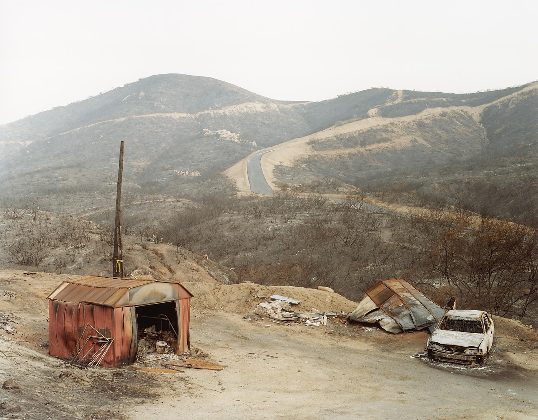 Wildfire #8, Cedar Fire, Wildcat Canyon, CA 2003