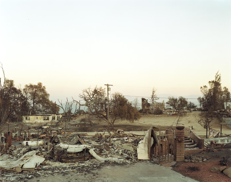 Wildfire #10, Cedar Fire, El Cahon, CA, 2003